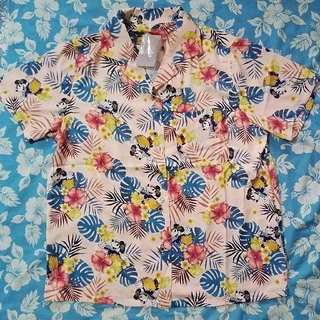 ディズニー(Disney)のディズニー★ミニー★アロハシャツ(シャツ/ブラウス(半袖/袖なし))