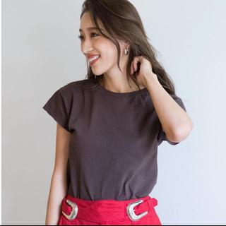 シールームリン(SeaRoomlynn)のsearoomlynn サークルネックBasicTシャツ(Tシャツ(半袖/袖なし))