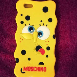 モスキーノ(MOSCHINO)のSpongebob Case(iPhoneケース)