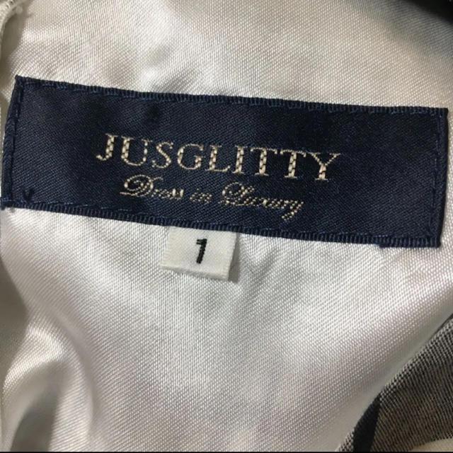 JUSGLITTY(ジャスグリッティー)のJUSGLITTY チェックラッフルワンピース 1 レディースのワンピース(ひざ丈ワンピース)の商品写真