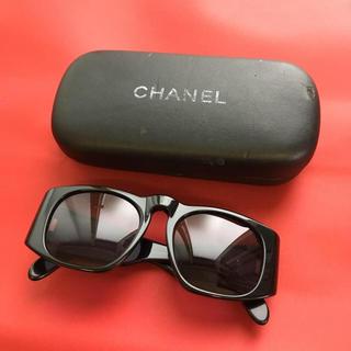 CHANEL - CHANEL シャネル  黒  マトラッセ  ヴィンテージ  サングラス 正規品
