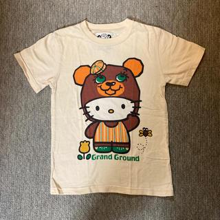 グラグラ(GrandGround)のグラグラ ハローキティ コラボSS(Tシャツ/カットソー)