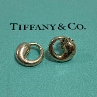 Tiffany & Co. - 美品!!【ティファニー エターナルサークル ピアス 片耳】