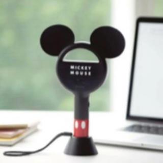 タカラジマシャ(宝島社)のミッキーマウス羽根なしハンディ扇風機(扇風機)