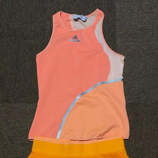 アディダスバイステラマッカートニー(adidas by Stella McCartney)の新品未使用 adidas ステラマッカートニー テニスウェア トップス(ウェア)