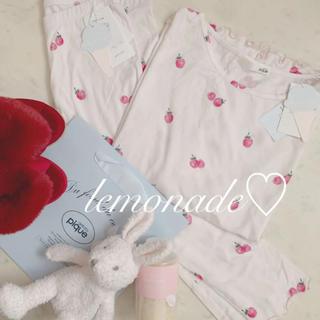 gelato pique - 定価以下♡フルーツモチーフ♡Tシャツ&レギンス♡ピンク
