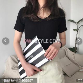 ゴゴシング(GOGOSING)のニットTシャツ(Tシャツ(半袖/袖なし))
