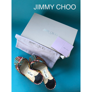 ジミーチュウ(JIMMY CHOO)のJIMMY CHOO ジミーチュウ ミュール サンダル 23cm(36)(サンダル)