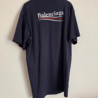 Balenciaga - BALENCIAGA Tシャツ ネイビー