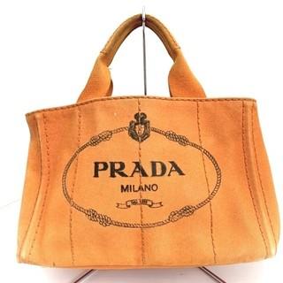プラダ(PRADA)のプラダ トートバッグ CANAPA オレンジ(トートバッグ)
