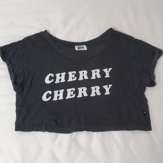 ケイティー(Katie)のkatie ロゴカットソー(Tシャツ(半袖/袖なし))