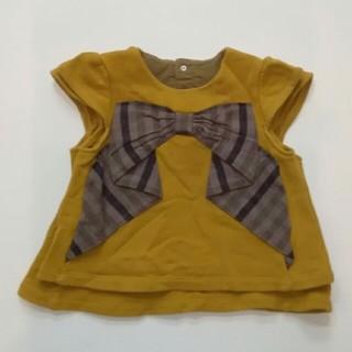 ベベ(BeBe)のBEBE ベベ 80 100 姉妹コーデ 2枚の大きさ確認用(Tシャツ/カットソー)