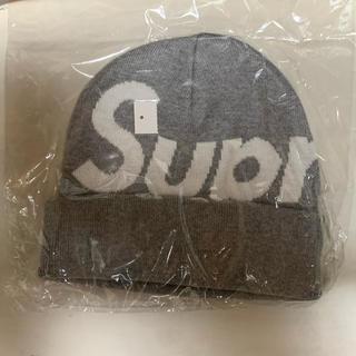 Supreme - ✨シュプリーム ビックロゴ ビーニー グレー
