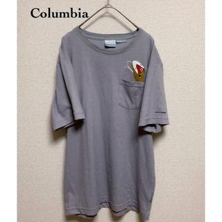 Columbia - コロンビアスポーツ PM1391 ブラフブラシュTシャツ ホッパーイラスト