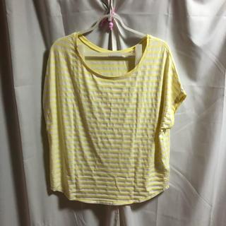 イーハイフンワールドギャラリー(E hyphen world gallery)のボーダー柄Tシャツ(Tシャツ(半袖/袖なし))