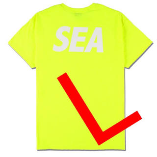 Ron Herman - WIND AND SEA SEA (BP) Tee / FS YELLOW 新品