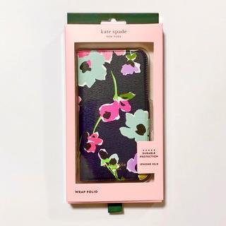 kate spade new york - ケイトスペード iPhone XS ワイルドフラワーブーケ フォリオ