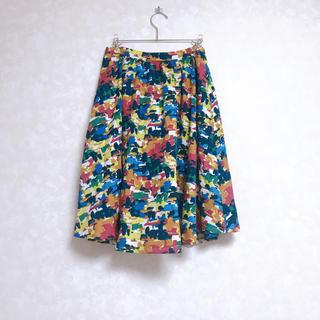 ダズリン(dazzlin)のdazzlin マルチカラー スカート カラフル(ひざ丈スカート)