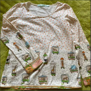 フランシュリッペ(franche lippee)のフランシュリッペ お引越し長袖Tシャツ(Tシャツ(長袖/七分))