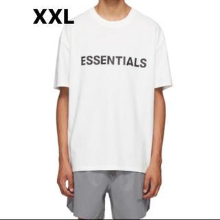 FEAR OF GOD - fog essentials white logo Tシャツ 20SS