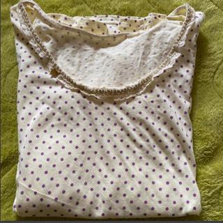 フランシュリッペ(franche lippee)のフランシュリッペ ドット柄長袖Tシャツ(Tシャツ(長袖/七分))