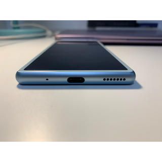 SONY - Xperia8 64GB Blue ジャンク