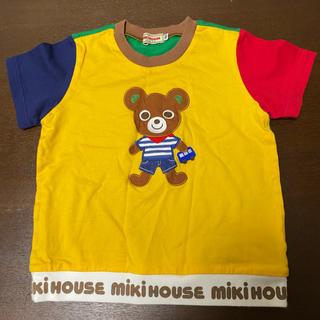 mikihouse - ミキハウス プッチー 半袖 シャツ 90(100) 中古 黄色