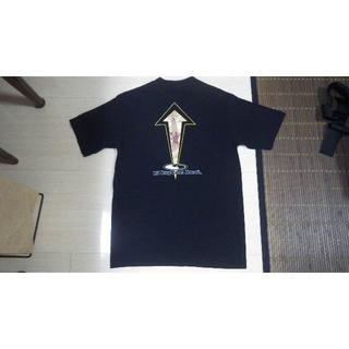 タウンアンドカントリー(Town & Country)の美品 90s town&country サーフィン Tシャツ USA製 黒(Tシャツ/カットソー(半袖/袖なし))