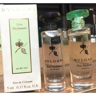 ブルガリ(BVLGARI)のブルガリ 香水5ミリセット au the vert au the noir(ユニセックス)
