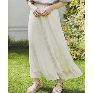 エヘカソポ(ehka sopo)のehkasopo×まる コラボ スカート(ロングスカート)