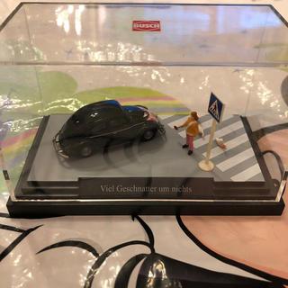 フォルクスワーゲン(Volkswagen)の値下げレアコレクション品 BUSCH ミニカー アヒルの横断 ワーゲン ビートル(ミニカー)
