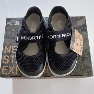 THE NORTH FACE - 【新品未使用】ノースフェイス リバーホッパー 水陸両用 ブラック 19cm