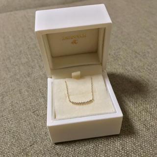 4℃ - EAU DOUCE 4°c K10 YG ダイヤモンド ネックレス ヨンドシー