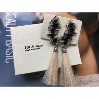 TOGA - 【TOGA PULLA(トーガプルラ)】メタルフリンジイヤリング