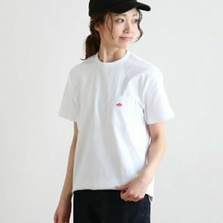 DANTON - DANTON  ダントン Tシャツ ホワイト 白Tシャツ