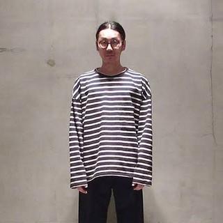 アンユーズド(UNUSED)のUNUSED 17SS ボーダーロングスリーブTシャツ 長袖Tシャツ ロンT(Tシャツ/カットソー(七分/長袖))