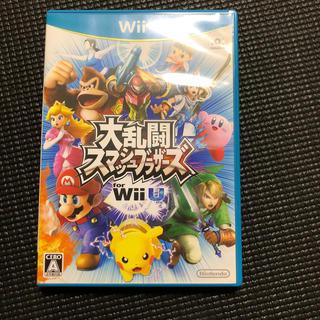 ウィーユー(Wii U)の大乱闘スマッシュブラザーズ for Wii U 【ジャンク品】(家庭用ゲームソフト)