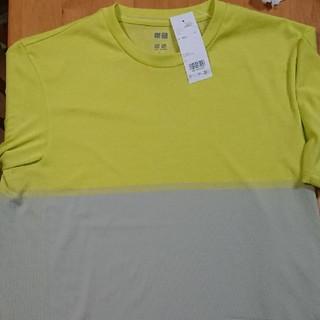 ユニクロ(UNIQLO)のユニクロ ドライ EX クルーネックTシャツ L(Tシャツ/カットソー(半袖/袖なし))
