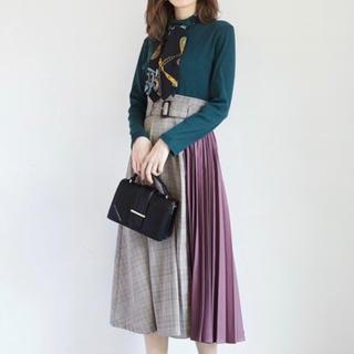 GRL - ❤︎GRL❤︎ ベルト付き切り替えスカート