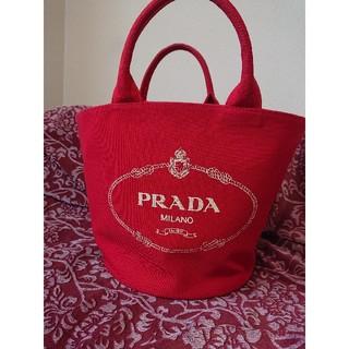 プラダ(PRADA)のプラダ キャンバストートバッグ(トートバッグ)