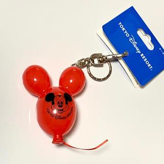 Disney - ディズニー バルーン キーホルダー 赤色