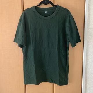 ユニクロ(UNIQLO)の【UNIQLO U】無地 シンプル ヘビーコットン 半袖 Tシャツ(Tシャツ/カットソー(半袖/袖なし))