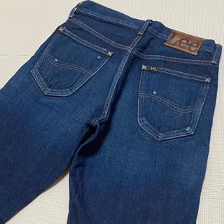 リー(Lee)のLee リー LM1303 アンクル丈 テーパードジーンズ 濃紺 サイズ S(デニム/ジーンズ)