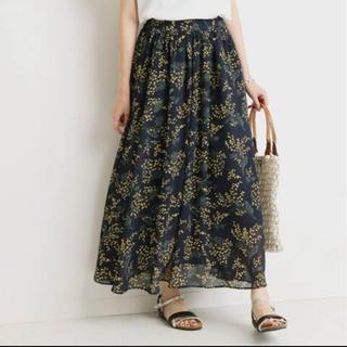 IENA - IENA ミモザ柄スカート
