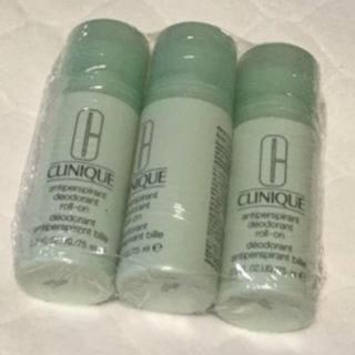 クリニーク(CLINIQUE)の新品 クリニークデオドラント アンティパースパイラント 3本セット(制汗/デオドラント剤)