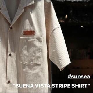 SUNSEA - 19SS SUNSEA  BUENA VISTA STRIPE SHIRT