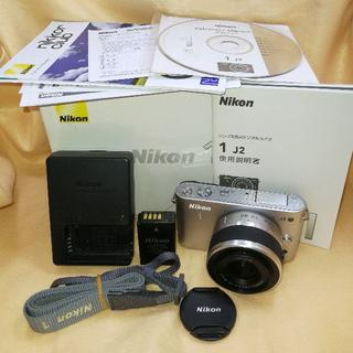 Nikon - ミラーレス Nikon 1 J2 標準ズームレンズ 10-30mm 銀