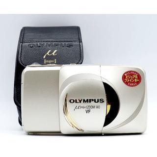 オリンパス(OLYMPUS)の極美品 OLYMPUS μ[mju:] zoom 140 VF ミュー #037(フィルムカメラ)