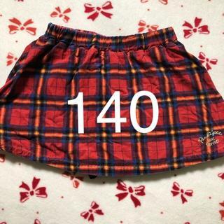 ピンクラテ(PINK-latte)の140 ピンクラテ インナーパンツ付きミニスカート(スカート)