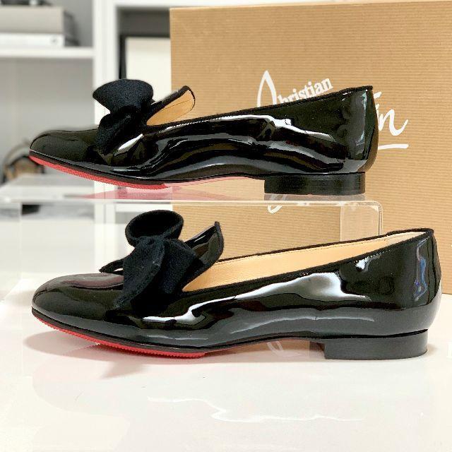 Christian Louboutin(クリスチャンルブタン)のクリスチャンルブタン パテント オペラシューズ レディースの靴/シューズ(ローファー/革靴)の商品写真